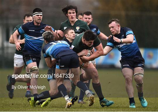 Ireland v Scotland - Irish Universities Rugby Union