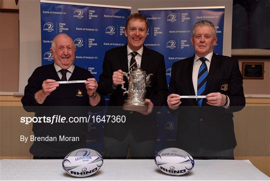 Bank of Ireland Provincial Towns Cup Round 3 Draw