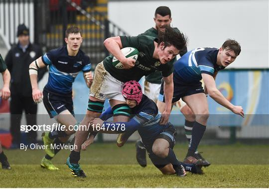 Ireland v Scotland - Irish Universities Rugby Union