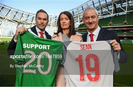 Liverpool Legends v Republic of Ireland XI Launch