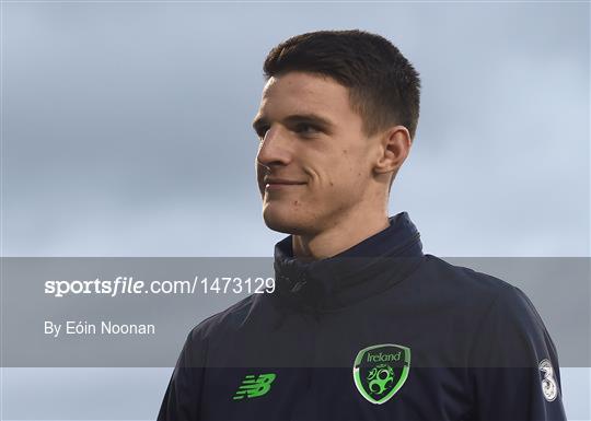 Republic of Ireland U21 Squad Training and Press Conference