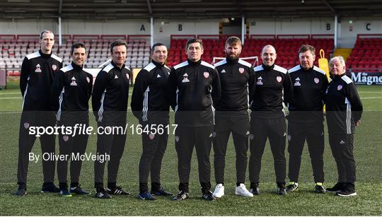 Derry City Squad Portraits 2019