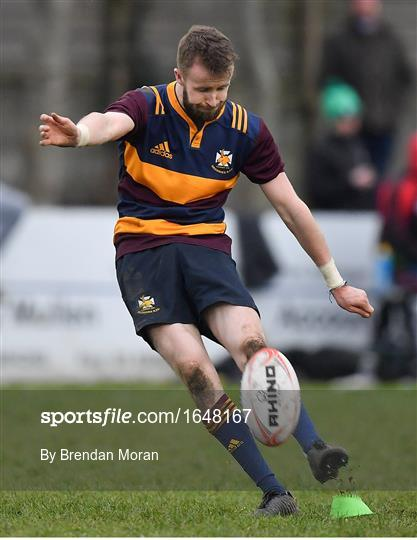 Skerries RFC v Enniscorthy RFC - Bank of Ireland Provincial Towns Cup Round 2