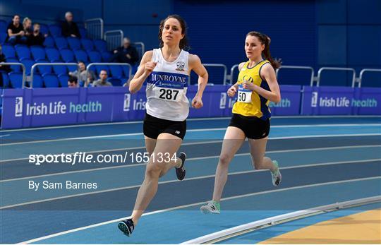 Irish Life Health National Senior Indoor Athletics Championships Day 1