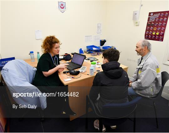 Mrs. Brown's Boys FAI Heart Care Programme - Drogheda United