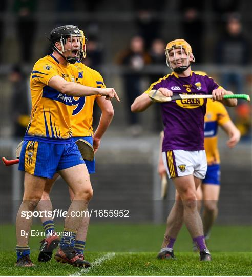 Clare v Wexford - Allianz Hurling League Division 1A Round 4