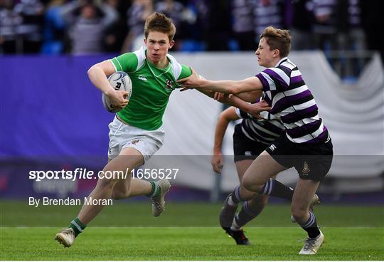 Gonzaga College v Terenure College - Bank of Ireland Leinster Schools Senior Cup Round 2