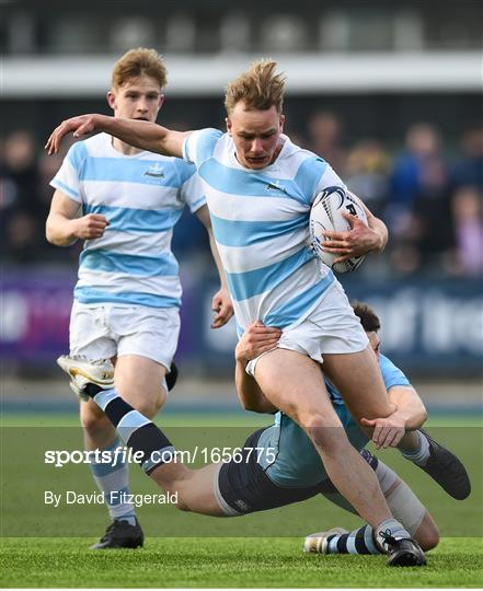 Blackrock College v St Michael's College - Bank of Ireland Leinster Schools Senior Cup Round 2