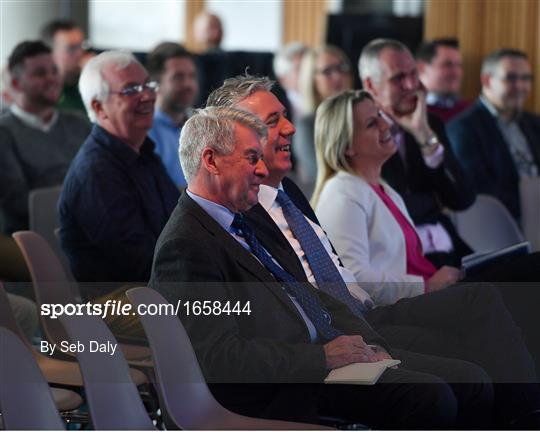 UEFA Masterclass in partnership with the Federation of Irish Sport