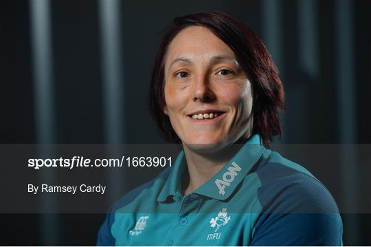 Ireland Women's Rugby Press Conference