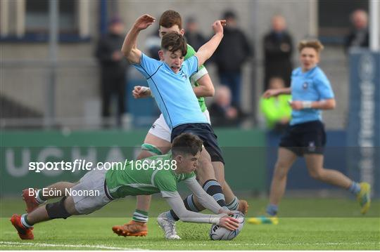 Gonzaga College v St Michael's College - Bank of Ireland Leinster Rugby Schools Junior Cup Semi-Final