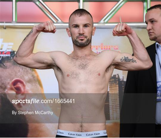 Boxing from Philadelphia - Weigh-Ins