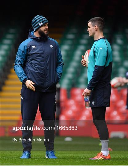 Ireland Rugby Captain's Run