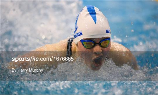 Irish Long Course Swimming Championships - Sunday