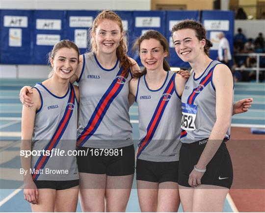 Irish Life Health National Juvenile Indoor Championships Day 3