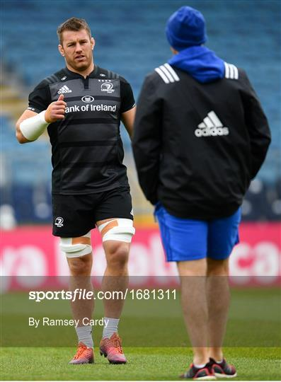 Leinster Rugby Captain's Run and Media Event