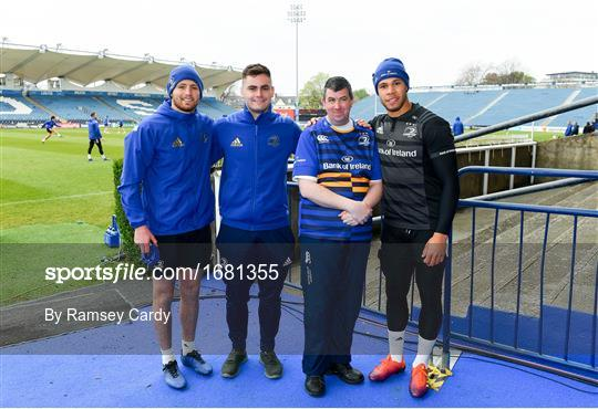 Leinster Rugby Captain's Run and Press Conference