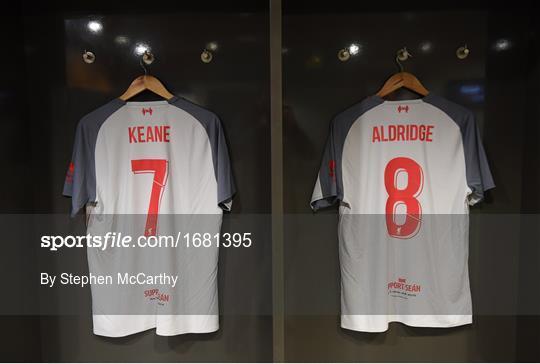 sale retailer 5d1d4 2be5e Republic of Ireland XI v Liverpool FC Legends ... - Sportsfile