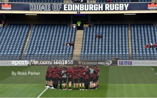 Edinburgh v Ulster - Guinness PRO14 Round 20