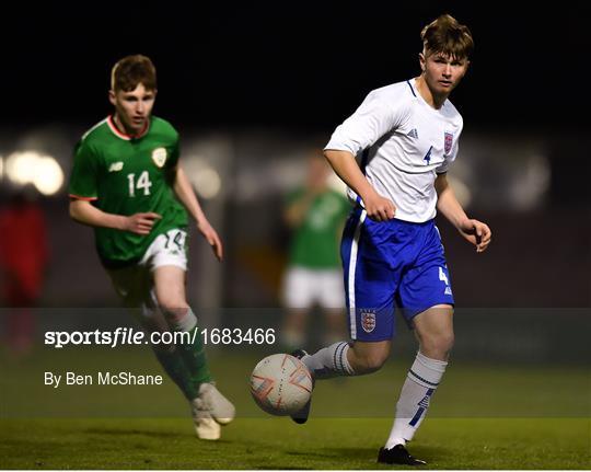 Republic of Ireland v England - SAFIB Centenary Shield   Under 18 Boys' International