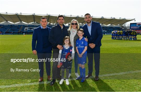 Mascots at Leinster v Glasgow Warriors - Guinness PRO14 Round 20
