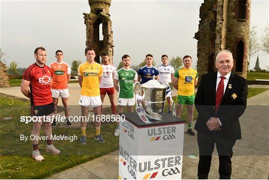 Ulster Senior Football Championship Launch 2019
