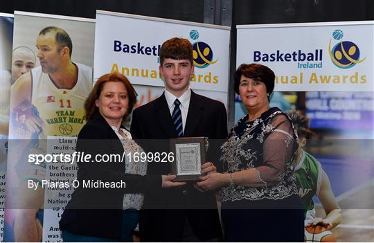 Basketball Ireland 2018/19 Annual Awards and Hall of Fame