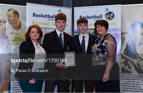 Basketball Ireland 2018/19 Annual Awards and Hall of Fame