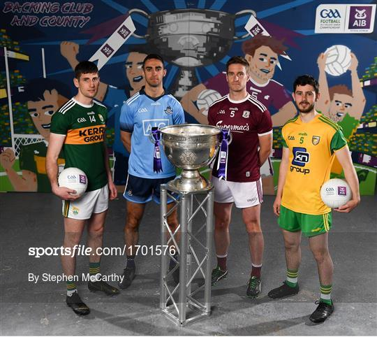 AIB GAA All-Ireland Senior Football Championship Launch 2019