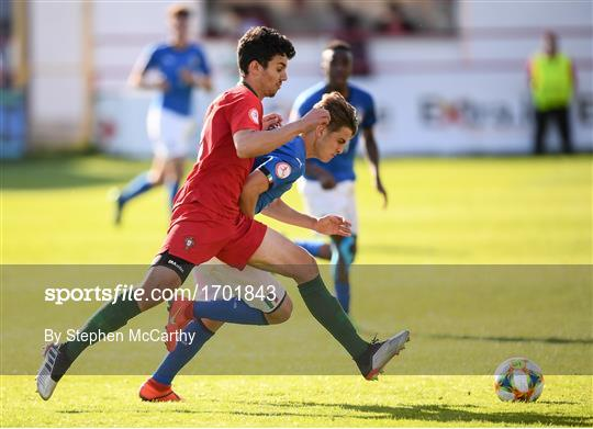 Italy v Portugal - 2019 UEFA European Under-17 Championships Quarter-Final