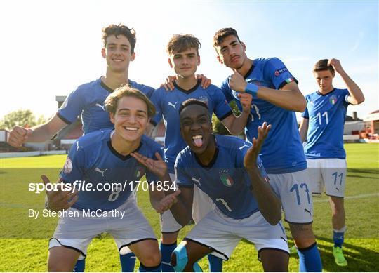 Italy v Portugal - 2019 UEFA European Under-17 Championships Quarter-Final