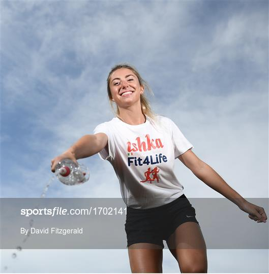 Launch of Ishka Spring Water as Official Sponsor of Athletics Ireland Fit4Life Programme.
