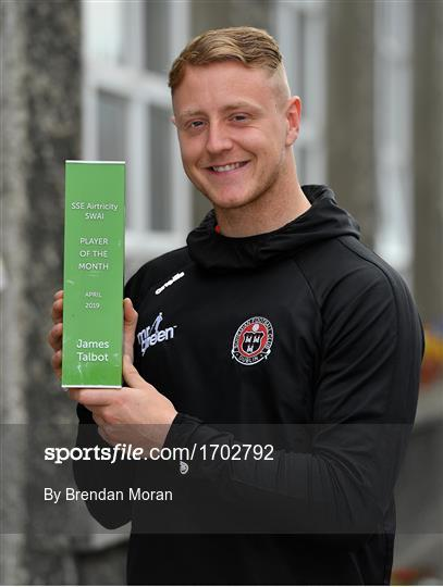 SSE Airtricity/SWAI Player of the Month for April