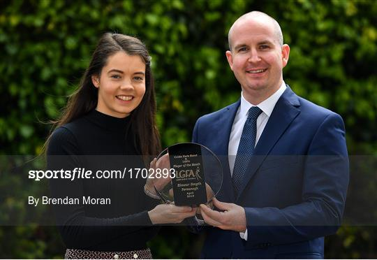 The Croke Park/LGFA Player of the Month award for April