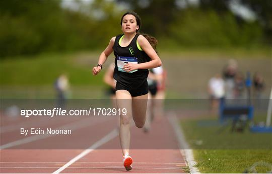 Irish Life Health Leinster Schools Track and Field Championships Day 1