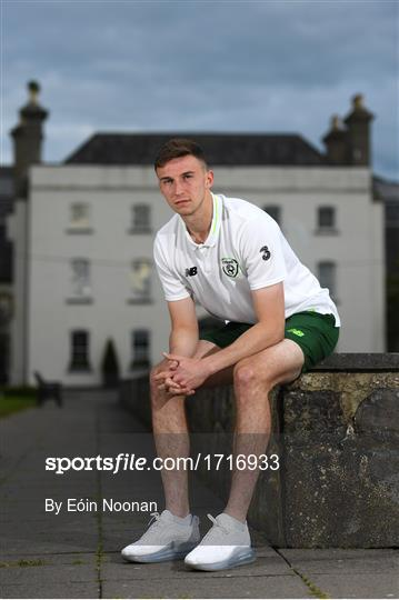 Republic of Ireland U21's Training & Press Conference