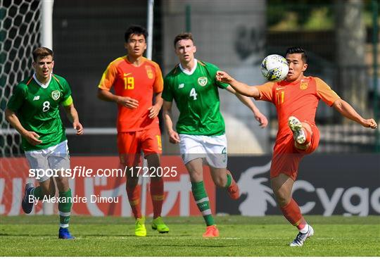 China v Republic of Ireland - 2019 Maurice Revello Toulon Tournament