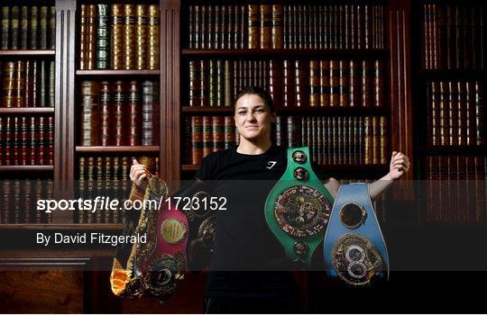 Undisputed World Lightweight Champion Katie Taylor Media Lunch