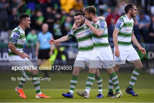 Shamrock Rovers v Derry City - SSE Airtricity League Premier Division