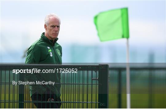 Republic of Ireland Training Session & Press Conference