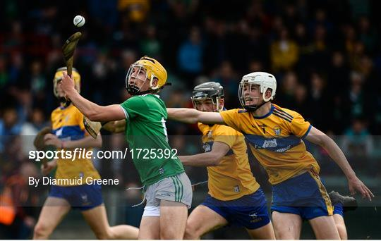 Limerick v Clare - Electric Ireland Munster Minor Hurling Championship