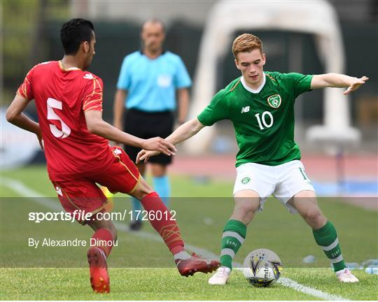 Bahrain v Republic of Ireland - 2019 Maurice Revello Toulon Tournament