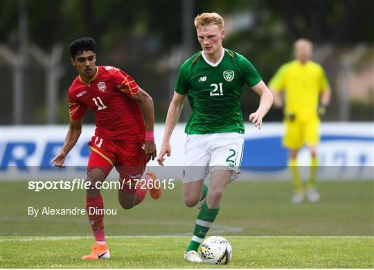 Bahrain v Republic of Ireland - 2019 Maurice Revello Toulon Tournament