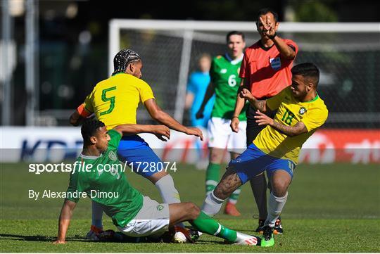 Brazil v Republic of Ireland - 2019 Maurice Revello Toulon Tournament Semi-Final