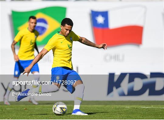 Brazil v Republic of Ireland - 2019 Maurice Revello Toulon Tournament Semi-Final
