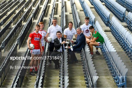 EirGrid GAA U20's All-Ireland Football Championship Launch