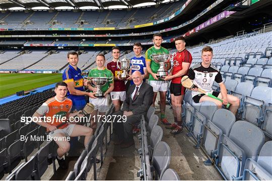 Joe McDonagh Cup, Christy Ring, Nicky Rackard & Lory Meagher Cup Final Media Event