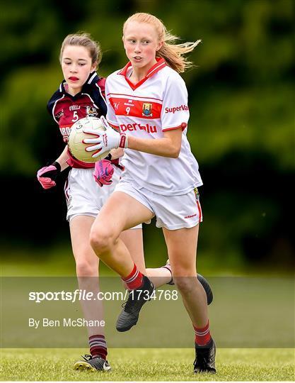 Cork v Galway - Ladies Football All-Ireland U14 Platinum Final 2019