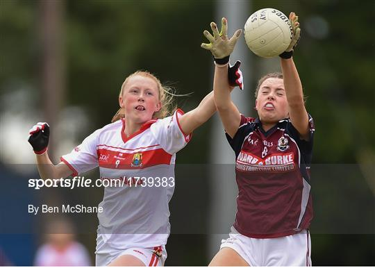 Cork v Galway - Ladies Football All-Ireland U14 Platinum Final 2019