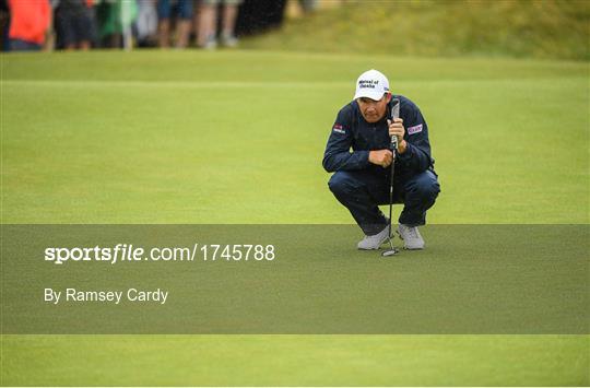 2019 Dubai Duty Free Irish Open - Day Three     - Sportsfile